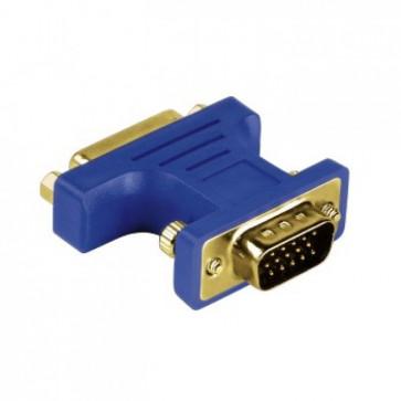 Adaptor, 15-pin VGA-DVI, analog, HAMA