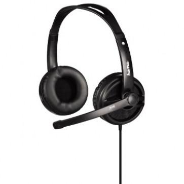 Casti PC, stereo, negru, HAMA HS-425