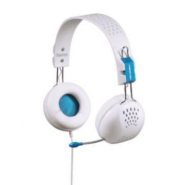 Casti PC, on-ear, alb, HAMA Perplex