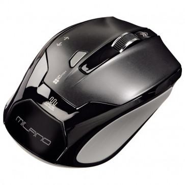 Mouse Wireless HAMA Milano, USB, 1600dpi, negru
