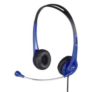 Casti PC, albastru, HAMA HS 260