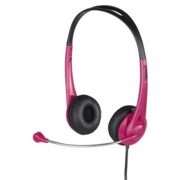 Casti PC, roz, HAMA HS 260