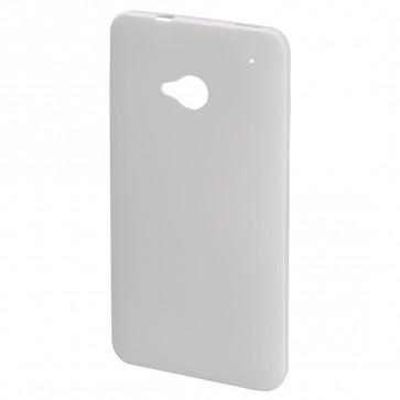 Carcasa ultra slim, HTC One, alb, HAMA