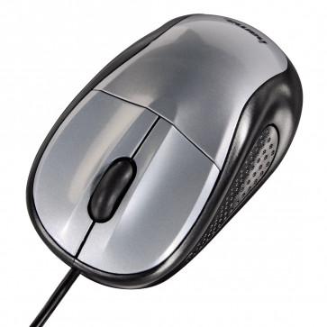 Mouse optic HAMA AM100, argintiu
