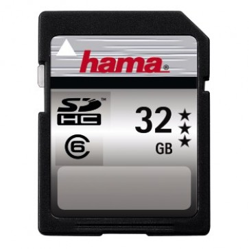 High Speed Pro SDHC, 32GB, HAMA