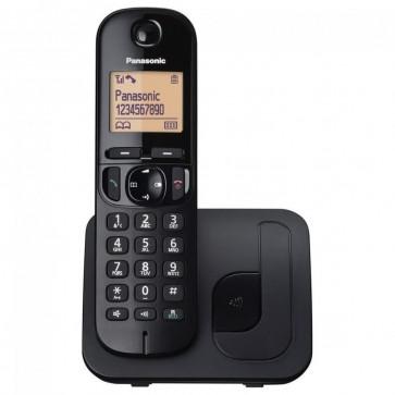 Telefon DECT PANASONIC KX-TGC210FXB, negru, fara fir