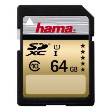 Card SDXC, 64GB, Class 10, HAMA