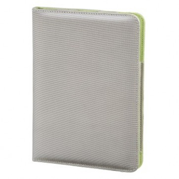 Husa iPad 5, argintiu/verde, HAMA Lissabon