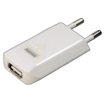 Incarcator USB pentru iPhone, 230v, alb, HAMA Picco
