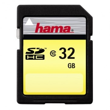 Card SD, 32GB, cls. 10, pt. TV, HAMA