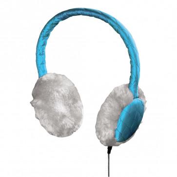 Casti cu microfon, bleu, HAMA Earmuff