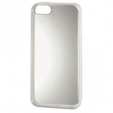 Carcasa iPhone 5, alb, HAMA Frame