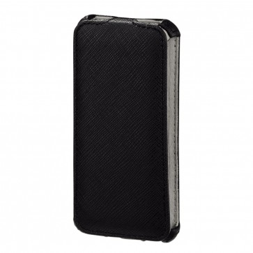 Toc iPhone 5, negru, HAMA Flap