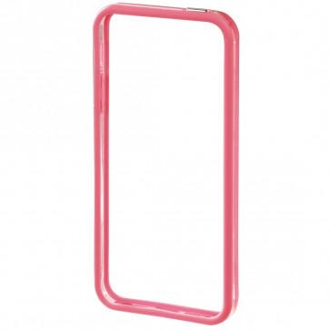 Rama iPhone 5/5s, roz/transparent, HAMA Edge