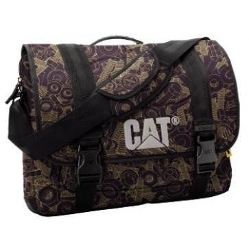 Geanta, surub, negru/galben, CAT Corey Milleni