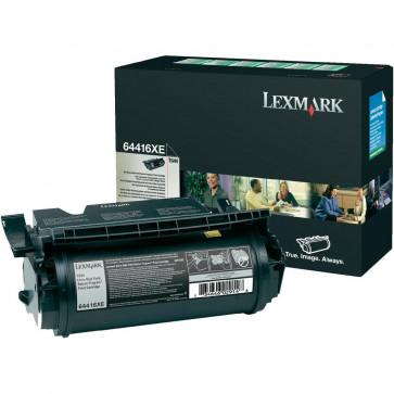 Toner, black, LEXMARK 64416XE