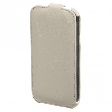 Toc Samsung Galaxy S4, alb, HAMA Flap Case