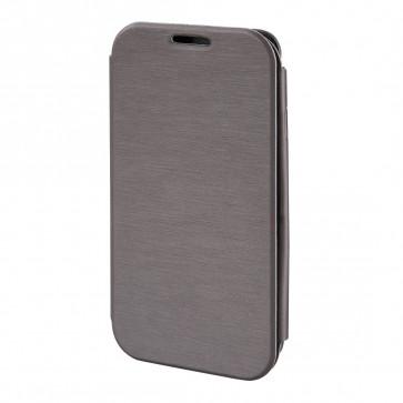 Toc slim, Samsung Galaxy S4, gri, HAMA Booklet