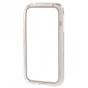 Rama protectie, Samsung Galaxy S4 mini, alb, HAMA Edge