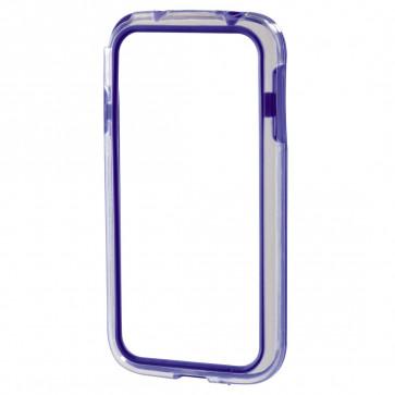 Rama protectie, Samsung Galaxy S4 mini, albastru, HAMA Edge