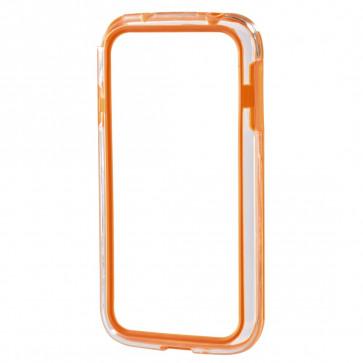 Rama protectie, Samsung Galaxy S4 mini, portocaliu, HAMA Edge