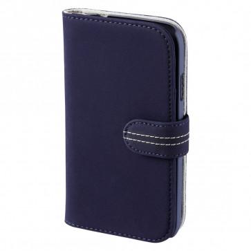 Toc Samsung Galaxy S4 mini, albastru, HAMA Portofolio Nubuck