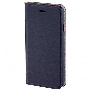 Husa Flip Cover pentru iPhone 6, HAMA Booklet Slim, Navy