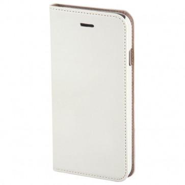 Husa Flip Cover pentru iPhone 6s, HAMA Slim Booklet, White