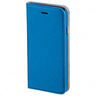 Husa Flip Cover pentru iPhone 6s, HAMA Slim Booklet, indigo blue