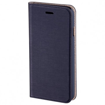 Husa Flip Cover pentru iPhone 6 Plus, HAMA Slim Booklet, Navy