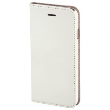 Husa Flip Cover pentru iPhone 6 Plus, HAMA Slim Booklet, White