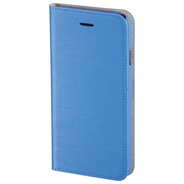 Husa Flip Cover pentru iPhone 6 Plus, HAMA Slim Booklet, Ocean Blue