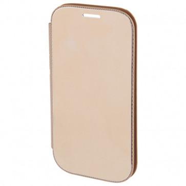 Husa Flip Cover pentru iPhone 6, HAMA Diary Case, Gold