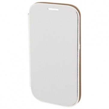 Husa Flip Cover pentru iPhone 6 Plus, HAMA Diary Case, Silver