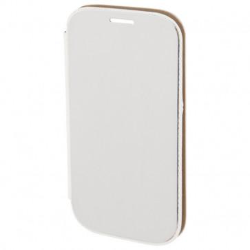 Husa Flip Cover pentru Samsung Galaxy Alpha, HAMA Diary Case, Silver