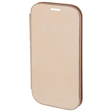 Husa Flip Cover pentru Samsung Galaxy Alpha, HAMA Diary Case, Gold