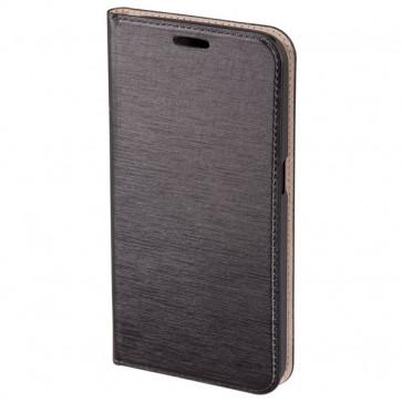 Husa Flip Cover pentru Samsung Galaxy S6, HAMA Slim Booklet, Dark Grey