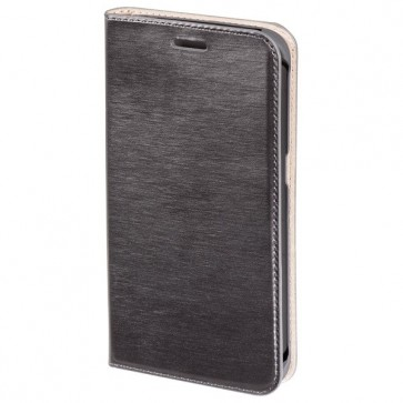 Husa Flip Cover pentru Samsung Galaxy S6 Edge, HAMA Booklet Case, Dark Grey