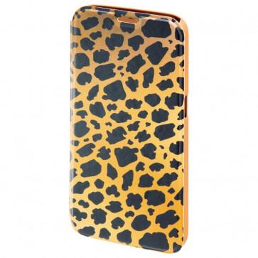 Husa Flip Cover pentru Samsung S6, HAMA Wild Leo Booklet, Brown