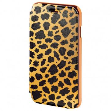 Husa Flip Cover pentru iPhone 6/6S, HAMA Wild Leo Booklet, Brown