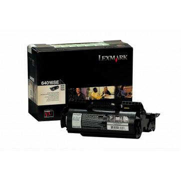 Toner, black, LEXMARK 64016SE
