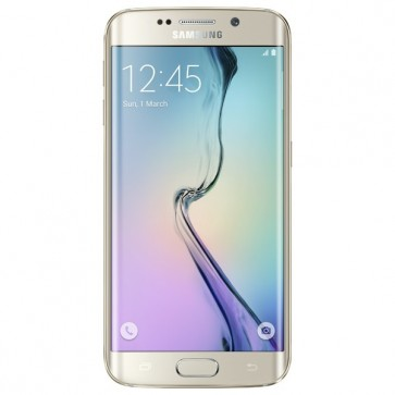 "SAMSUNG Galaxy S6 Edge, 5.1"", 16MP, 3GB RAM, 4G, Octa-Core, 64GB, Gold"