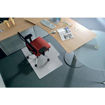 Protectie podea pentru covoare, forma L, 150 x 120cm, RS OFFICE BSM