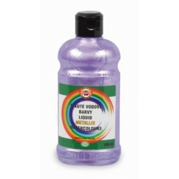Acuarela lichida, violet metalizat, 300ml/tub, KOH-I-NOOR