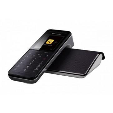 Telefon DECT PANASONIC Premium KX-PRW110FXW, negru, fara fir