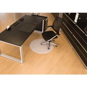 Protectie podea pentru suprafete dure, forma R, diametru 90cm, RS OFFICE BSM