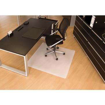 Protectie podea pentru suprafete dure, forma O, 130 x 120cm, RS OFFICE BSM