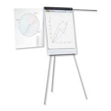 Flipchart magnetic cu brate extensibile, 70 x 100cm, SMART 333B