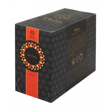 Ceai plic, 20 plicuri/cutie, negru, THERA Earl Grey