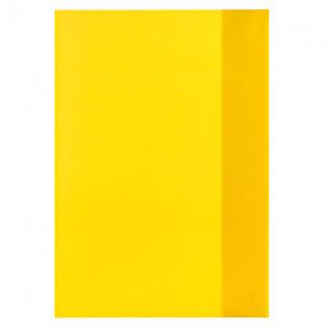 Coperta A5, PP, galben transparent, 25 buc/set, HERLITZ